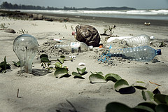 beach pollution, malaysia