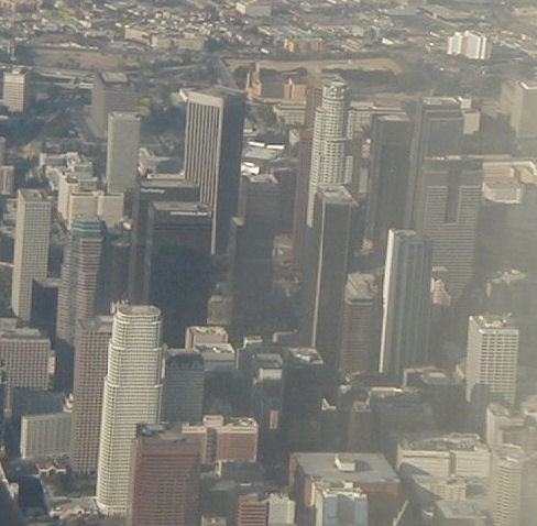 air pollution effects, downtown Los Angeles smog