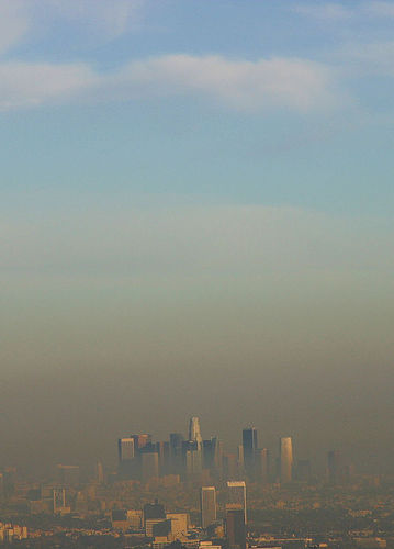 air pollution, los angeles smog