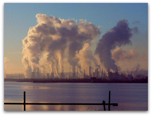 oil pollution emissions