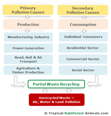pollution causes