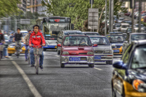pollution causes, shanghai traffic, population growth